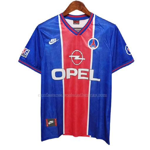 1995-96 camiseta retro 1ª equipación paris saint-germain