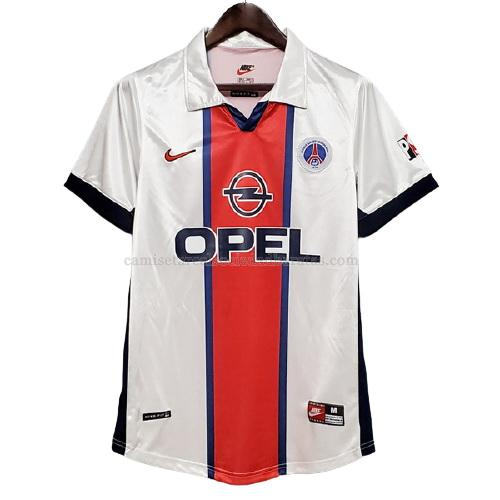 1997-1998 camiseta retro 2ª equipación del paris saint-germain