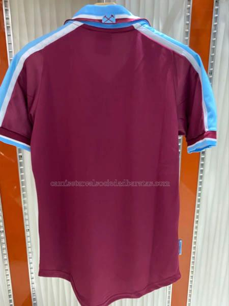 1999-2000 camiseta retro 1ª equipación del west ham united