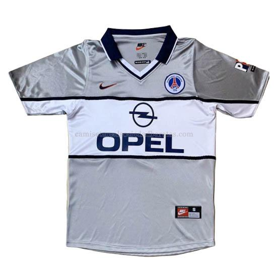 2000 camiseta retro 2ª equipación del paris saint-germain