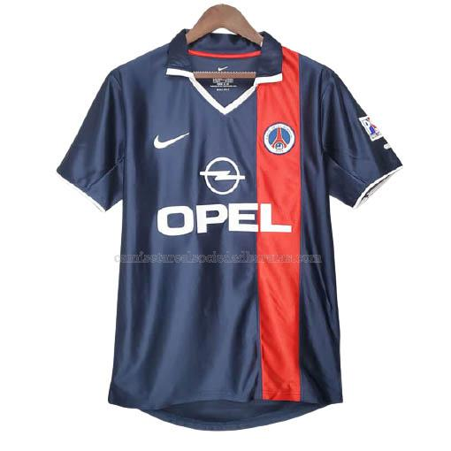 2001-2002 camiseta retro 1ª equipación del paris saint-germain
