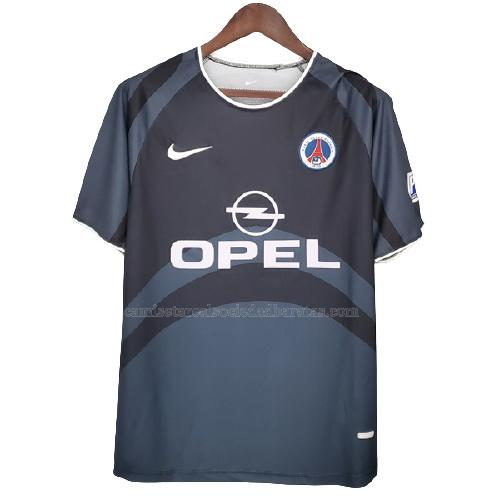 2001-2002 camiseta retro 2ª equipación del paris saint-germain