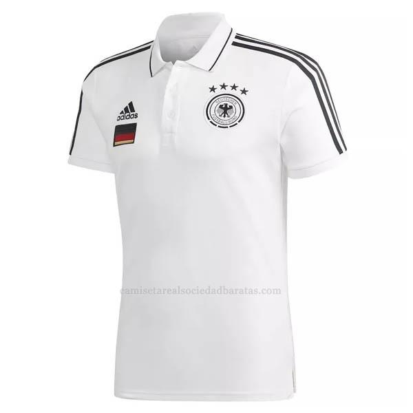 2021 camiseta polo alemania blanco